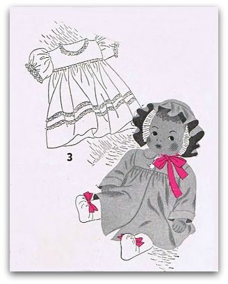 Printable doll clothing patterns for making doll clothes | Pinterest ...