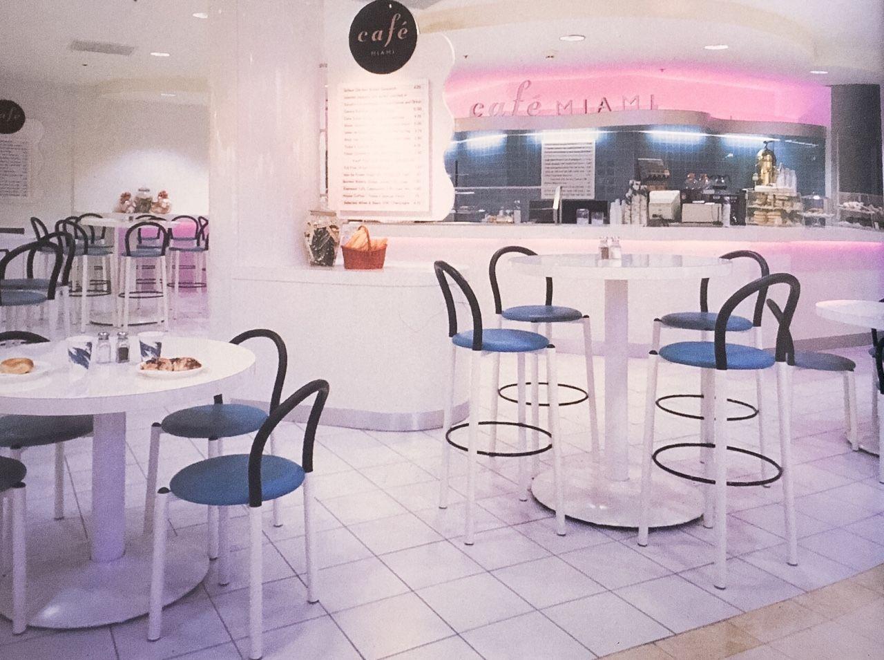 Cafe Miami, Bloomingdaleu0027s Kendall, Florida 1993