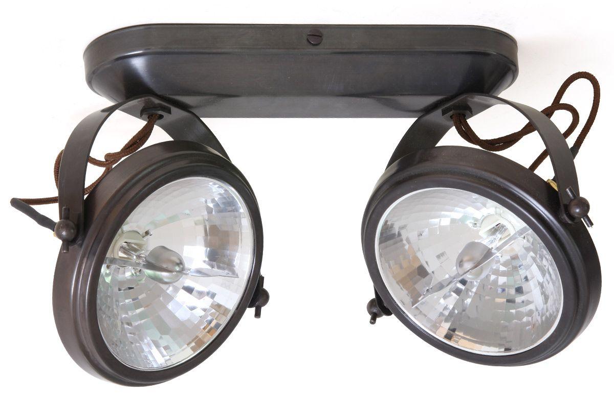 Rustikaler Doppel Strahler Cent Von Authent Aufbauleuchte Beleuchtung Strahler