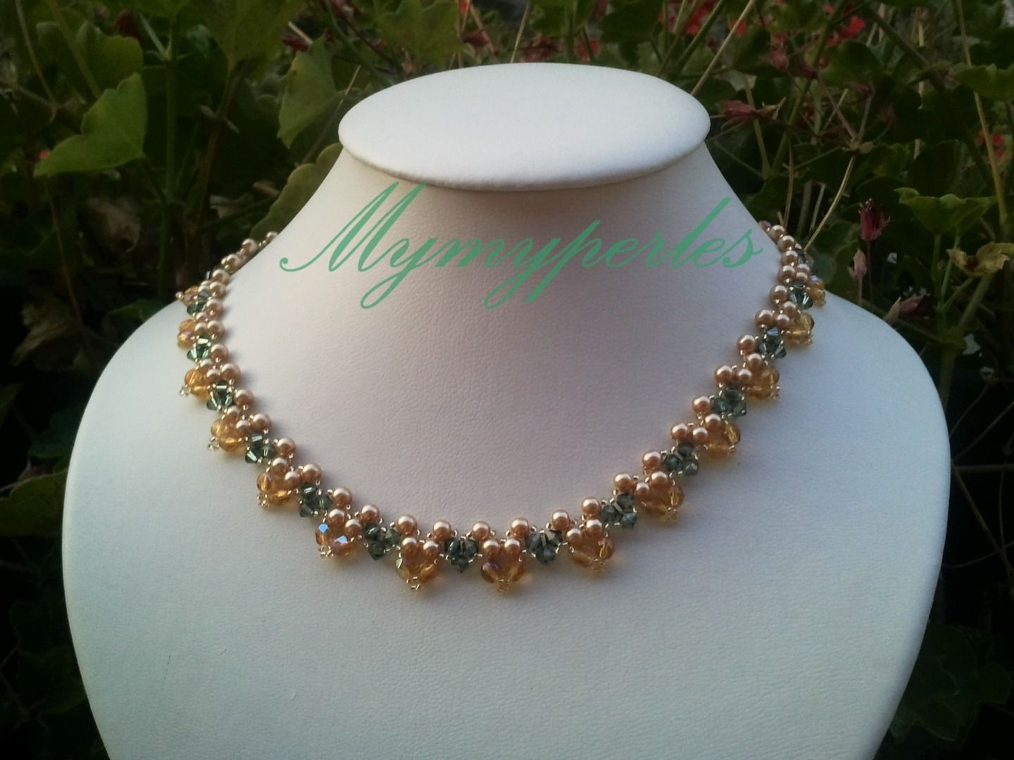 Garden necklace : Collier par mymyperles