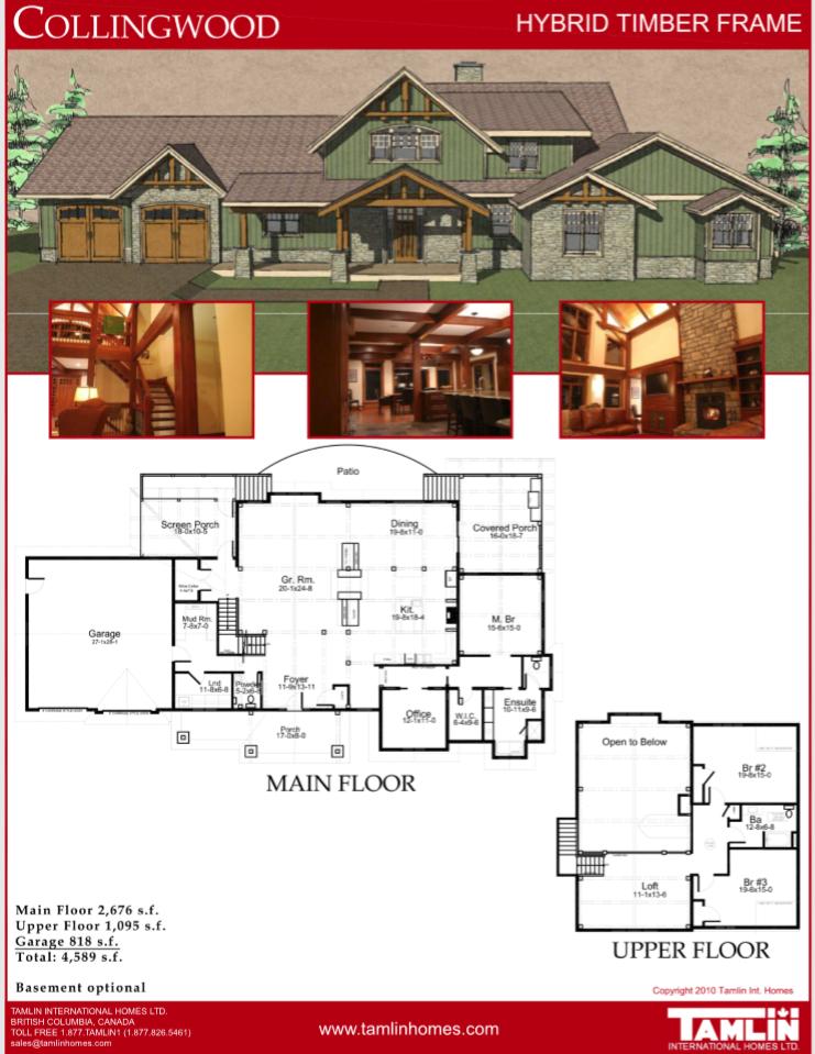 Plans Above 2500 Sq.Ft   Tamlin House Plans   Pinterest