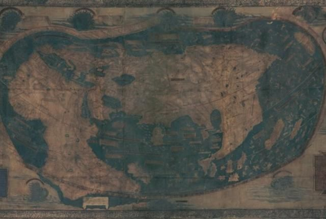 Map Of The World Before Columbus.The Mistake That Took Christopher Columbus To The Caribbean In 1492