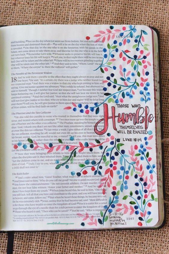 Bible Journaling Ideas #bible