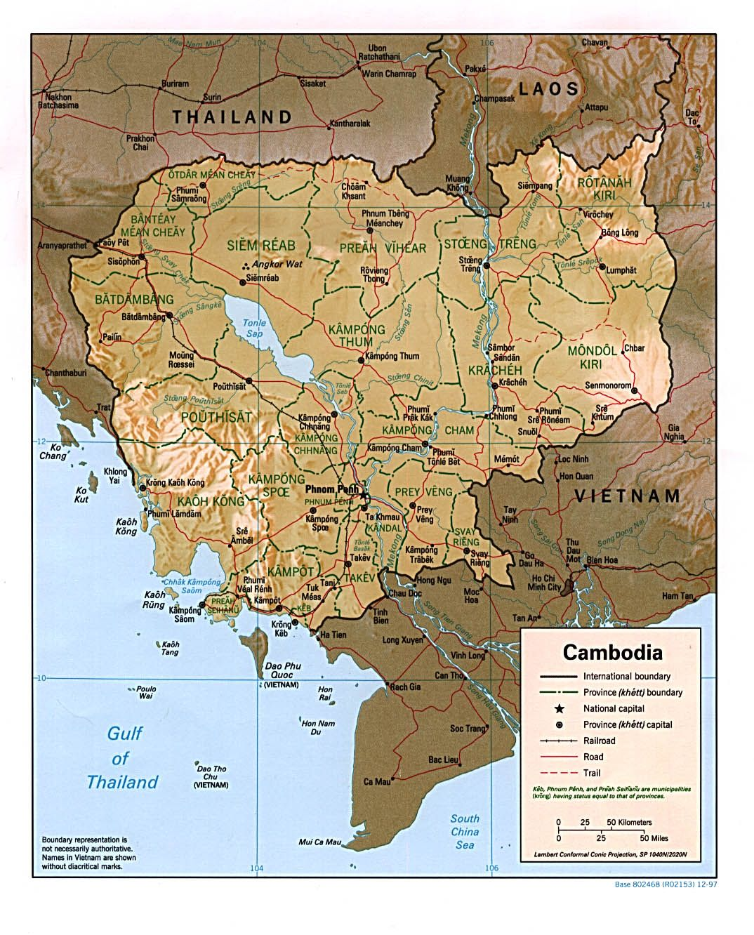 map of cambodia places i love Pinterest Cambodia Cambodia map