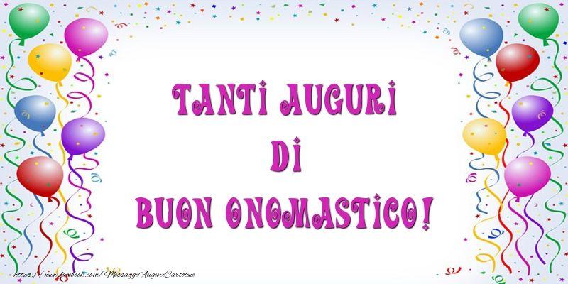 Très Tanti Auguri di Buon Onomastico! | Cartoline di onomastico | Pinterest EL54