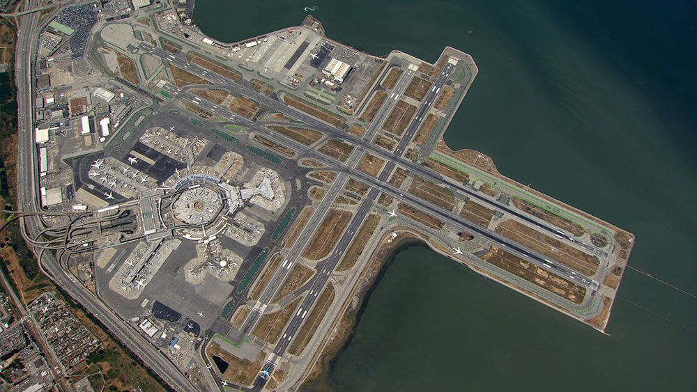 SFO - view from above