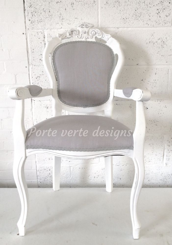 French Louis Style Shabby Chic Dining Chair or Bedroom ...