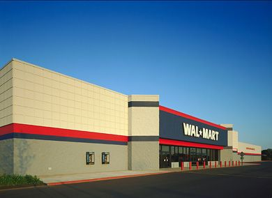 wal mart new construction new construction 100000 sf each eight locations including