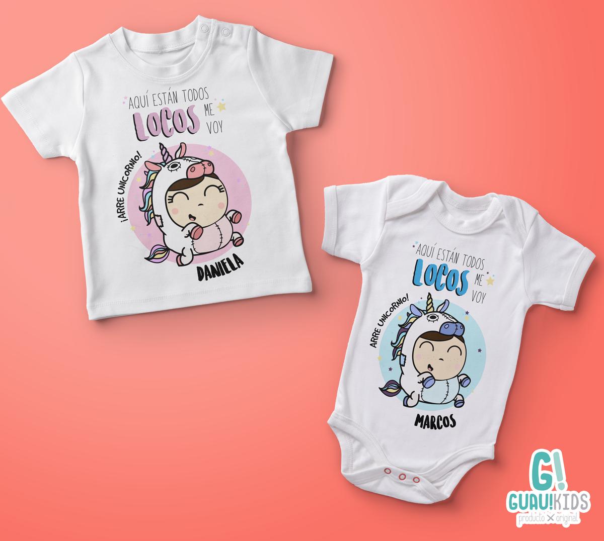 Aqu Est N Todos Locos Original Dise O Disponible Para  ~ Ideas Para Decorar Camisetas Infantiles