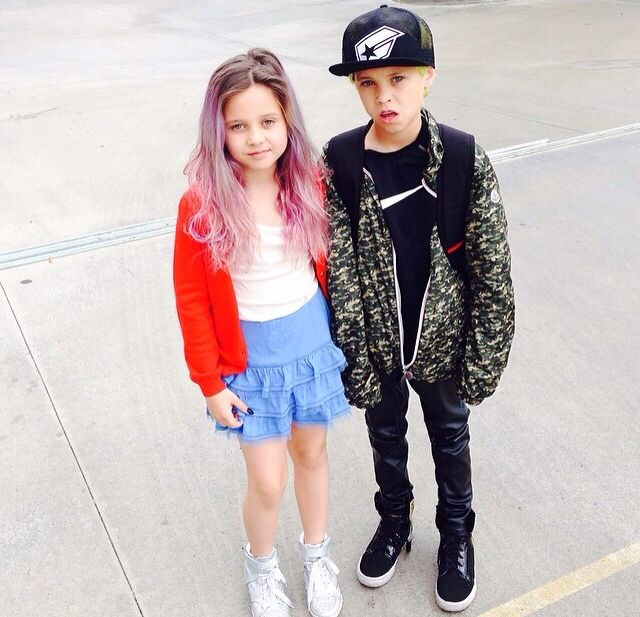 Travis Barker's kids - they are so cute