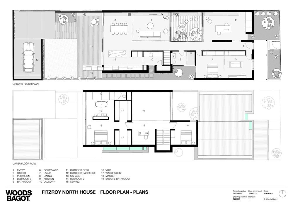 Peter Miglis House By Peter Miglis Of Woods Bagot Architects (via Lunchbox  Architect) · Architecture PlanTerraceHouse ...