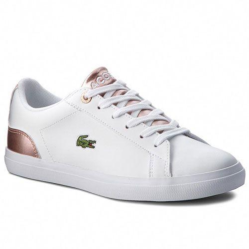 d25d0f6e85e LACOSTE Γυναικεία Sneakers Lerond 318 3 Caj 7-36CAJ0014B53 Wht Pnk  lacoste