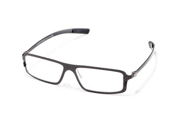 All carbon fiber eyeglasses that are made in Italy with a vintage ...