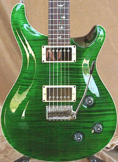 Paul Reed Smith Emerald Green PRS Custom 22 Guitar | Guitars ...
