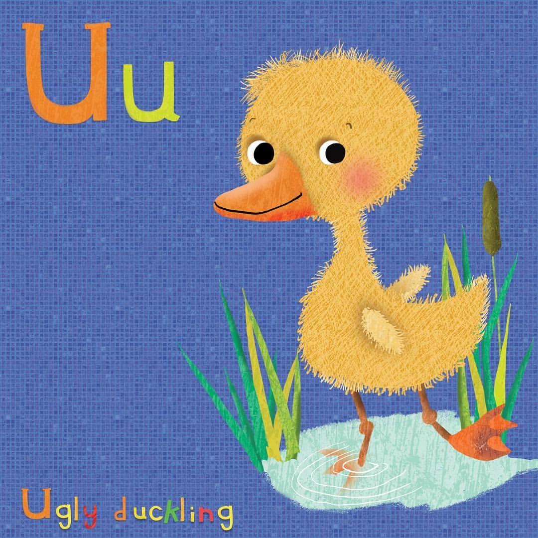 Uglyduckling Animalalphabet Fairytales