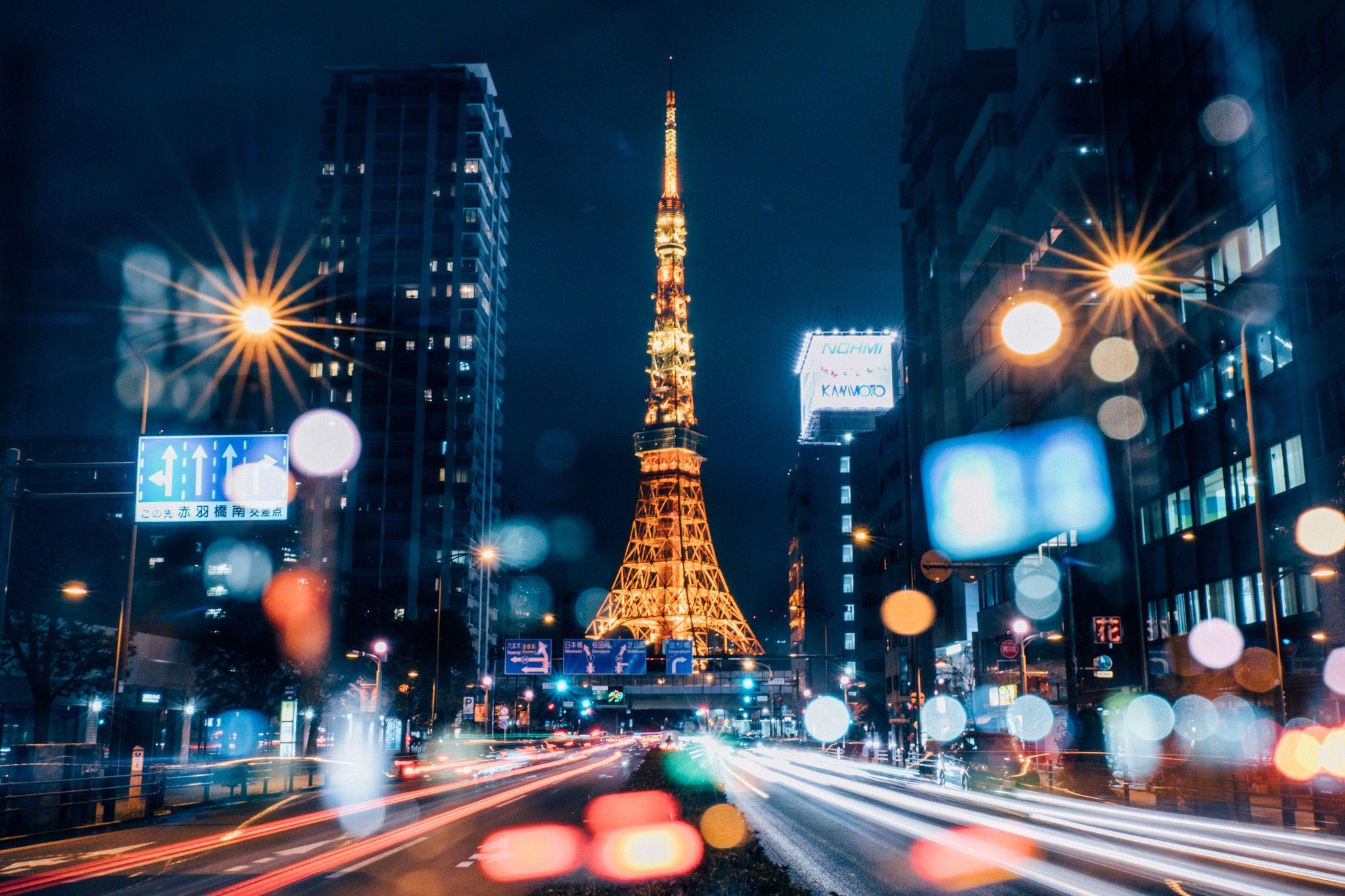 Tokyo Night Wallpapers Full Hd Tokyo night, Tokyo
