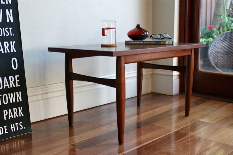 Retro Teak Timber Parker Style Vintage Compact Coffee ...