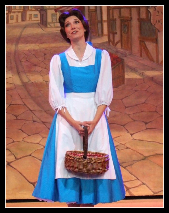 Beauty and the beast blue belle dress