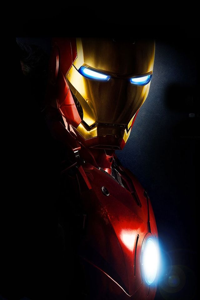 Marvel's Iron Man iPhone Wallpaper my sci fi favorites
