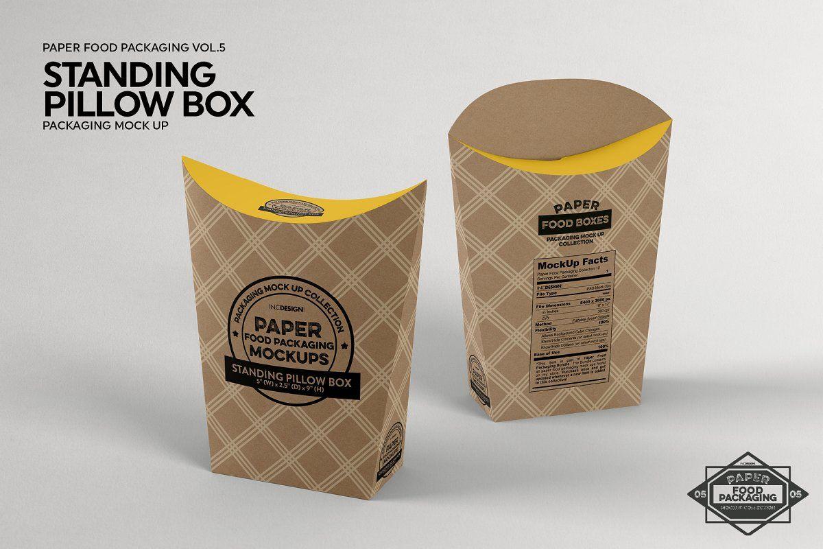Vol 5 Food Box Packaging Mockups Packaging Mockup Food Box Packaging Box Packaging