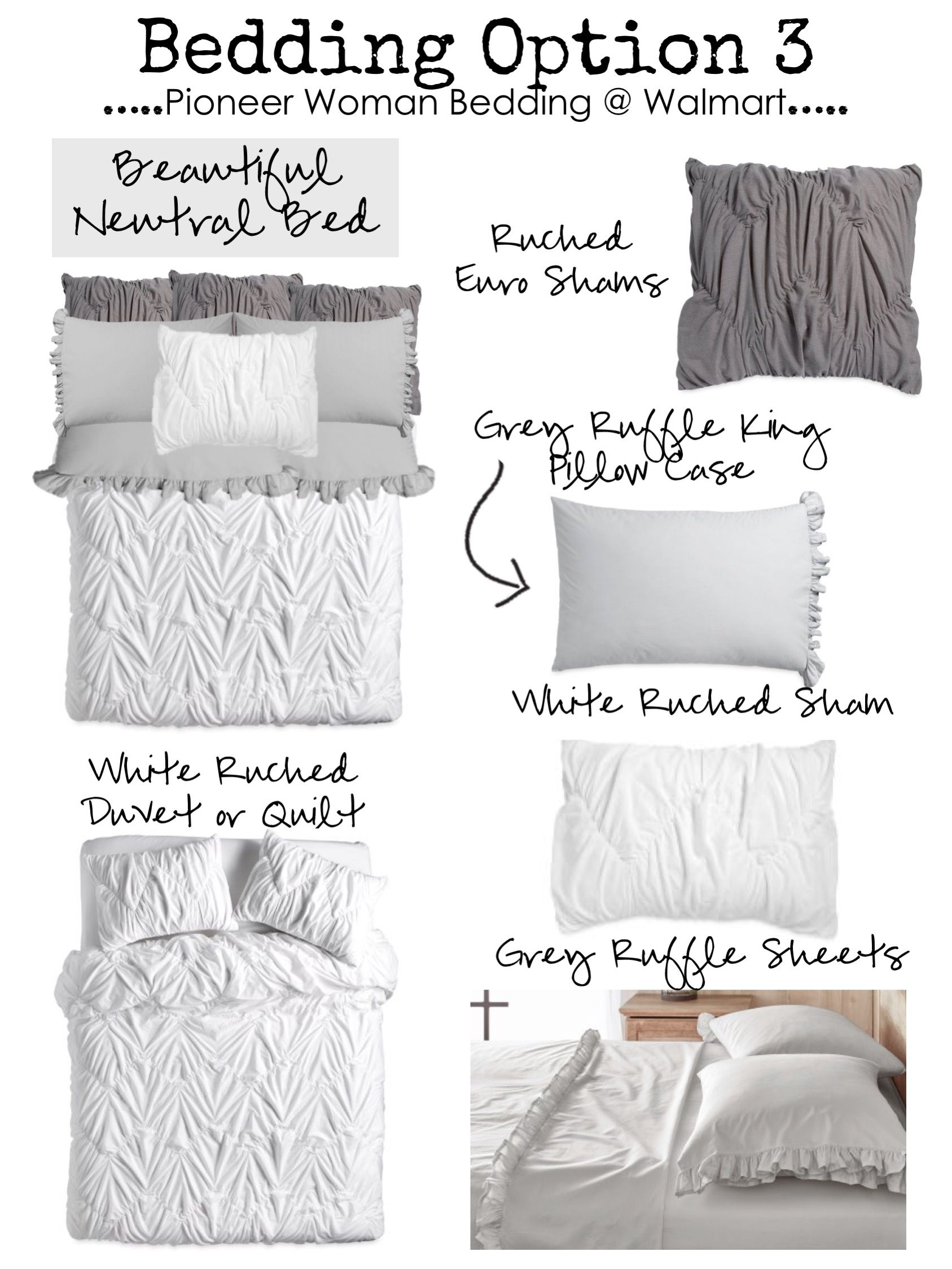 New Budget Friendly Farmhouse Bedding By The Pioneer Woman Beautiful Affordable Exclusively Walma Walmart Bedding Farmhouse Bedding Farmhouse Style Bedding