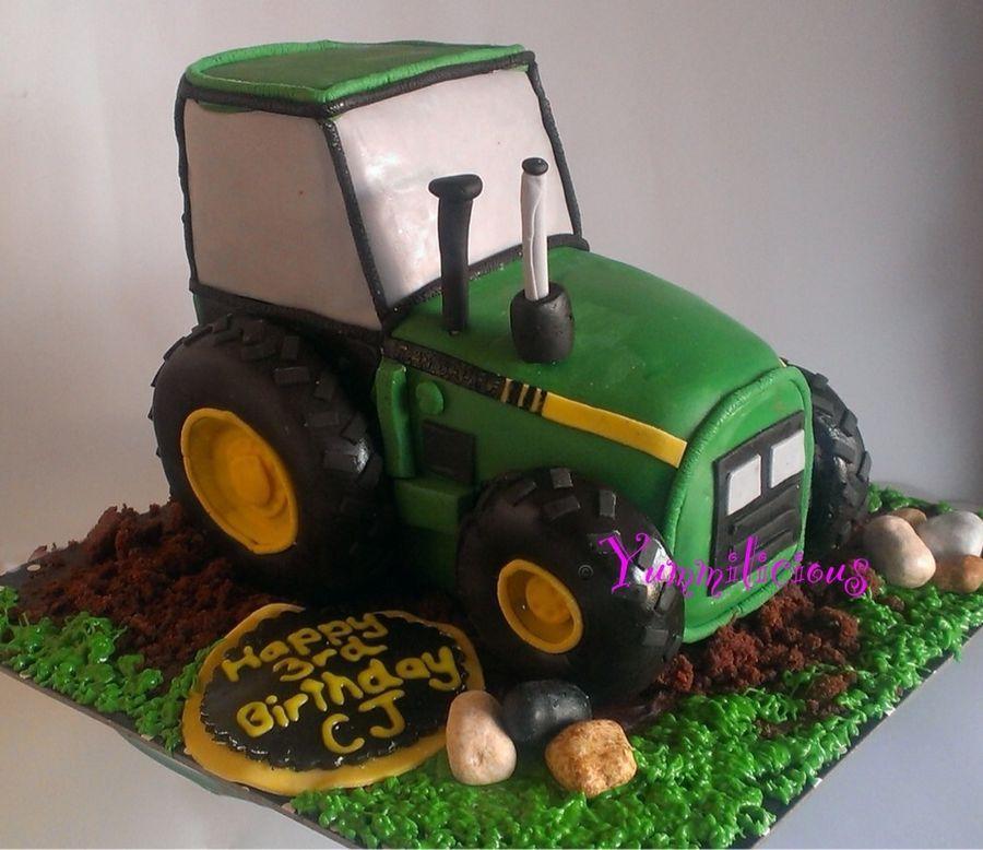 что торт трактор в картинках лепка