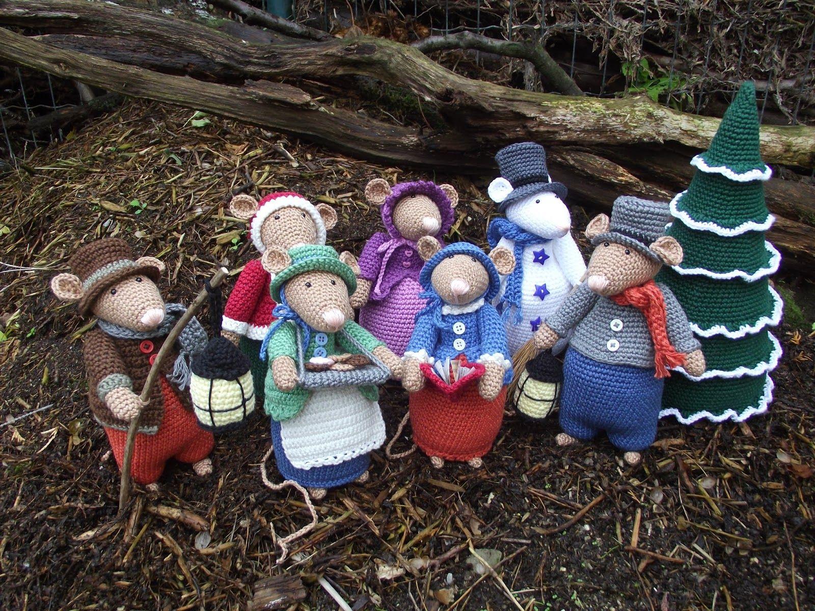 Dickens Muizen Gehaakt Wee Critters Pinterest Crochet