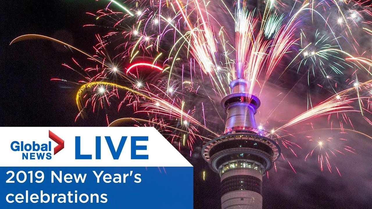 LIVE New Year's Eve 2019 countdown celebrations New