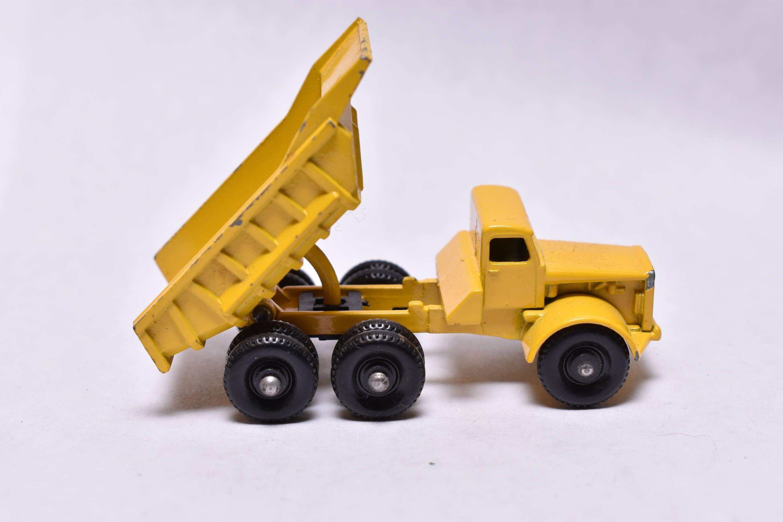 Matchbox Lesney No. 6 Euclid Dump Truck, Yellow, 1960's