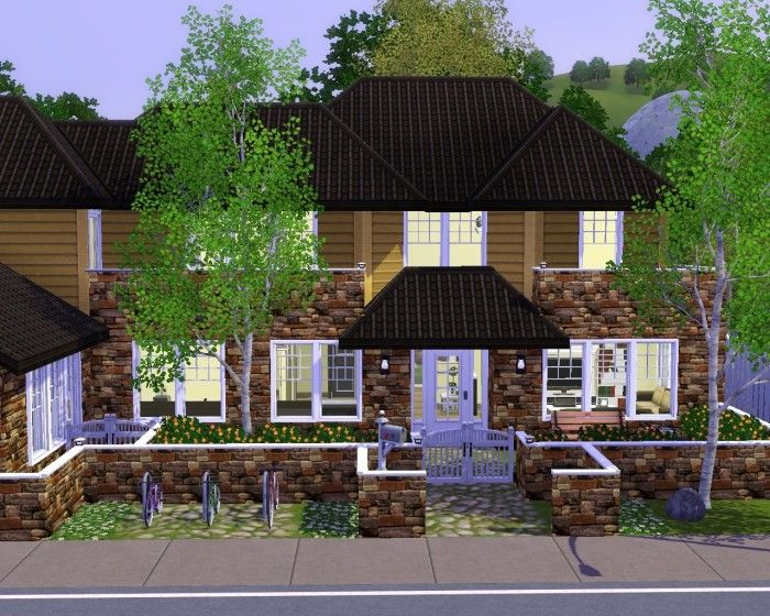 Traditional Family Home No Cc By Gchocapic Sims 3 Downloads Cc Caboodle Sims House Sims Sims3 House
