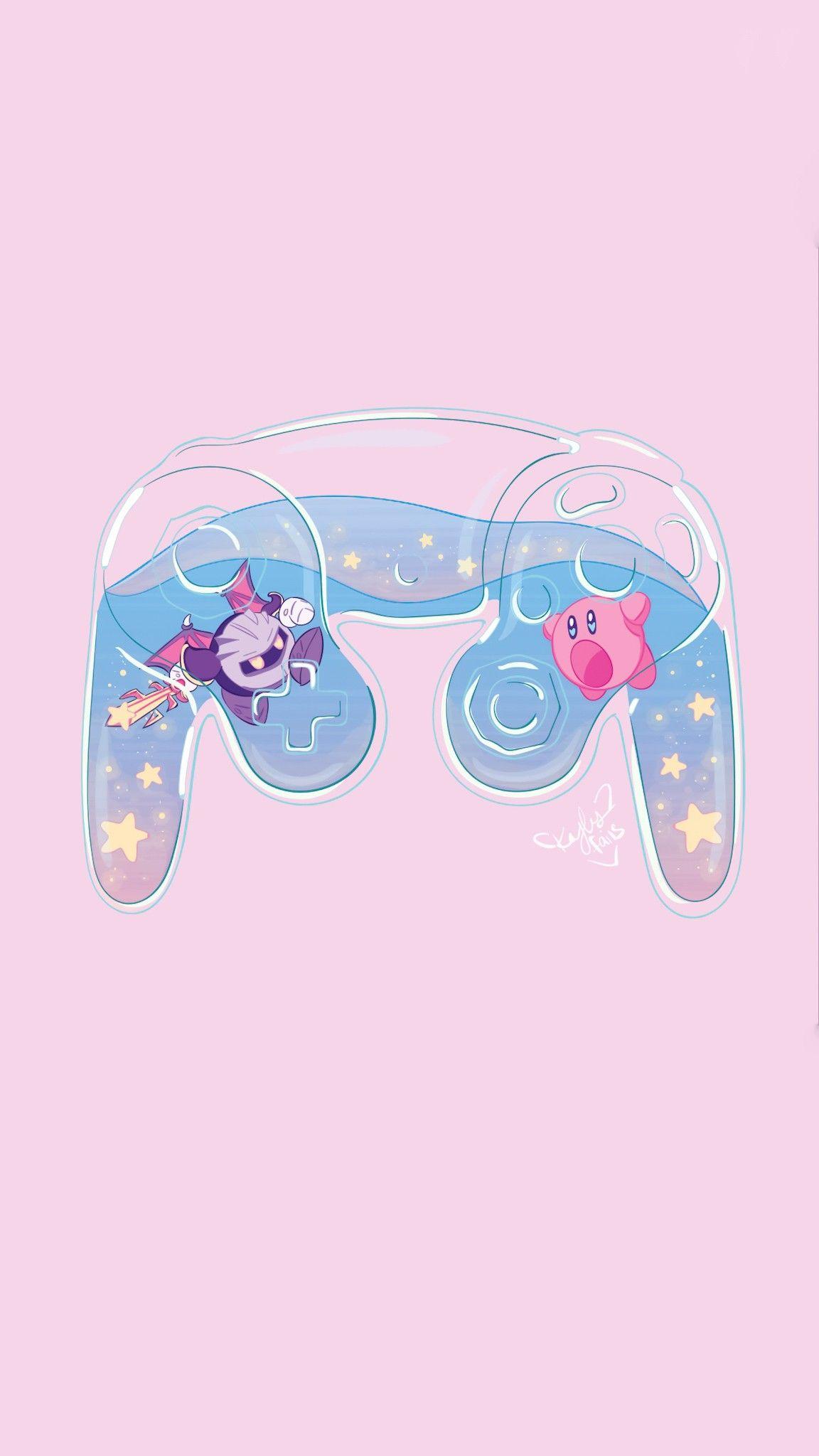 Pin By Aekkalisa On Kirby Bg Kirby Art Anime Wallpaper Kawaii Wallpaper