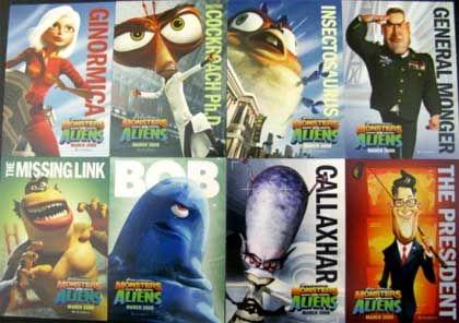 Monsters Vs Aliens  Movies  Pinterest  Monsters vs