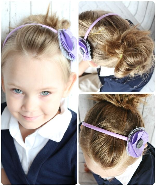Step By Simple Kids Hair Styles For School Easy Hairstyles Little Girls