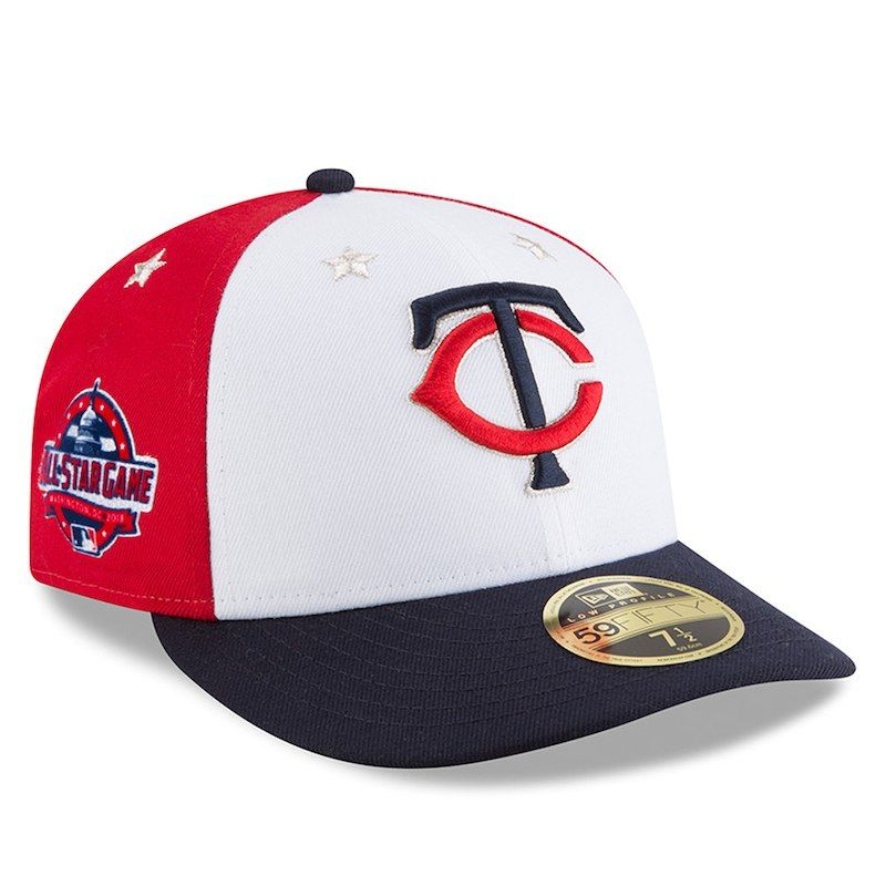 cheaper 16baa 9cb88 Minnesota Twins New Era 2018 MLB All-Star Game On-Field Low Profile 59FIFTY  Fitted Hat – White Navy