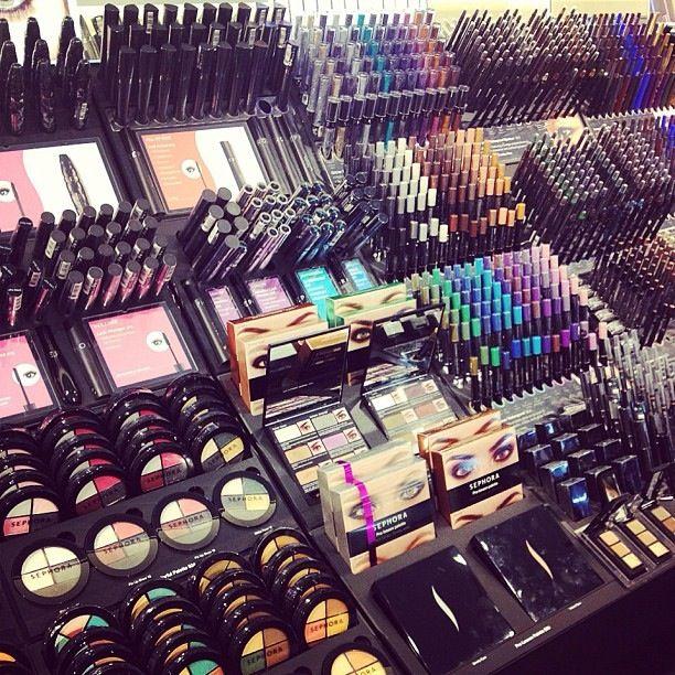 Sephora Makeup Via Instagram Sephora Makeup Makeup Store Makeup Organization