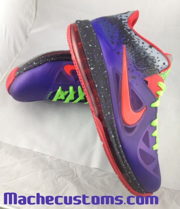 new style df03b 61516 Nike LeBron 9 Low Custom