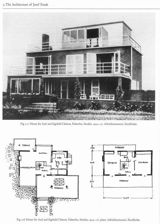 Josef Frank (architect) Josef Frank Architect And Designer at ...
