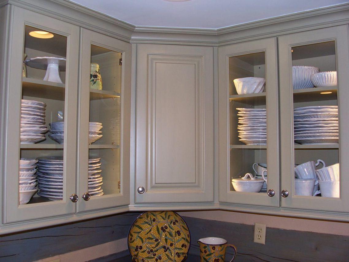50+ Adding Glass to Kitchen Cabinet Doors - Kitchen ...