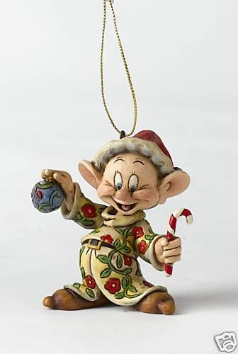 Details About Disney Traditions A9041 Dopey Seven Dwarf Hanging Tree
