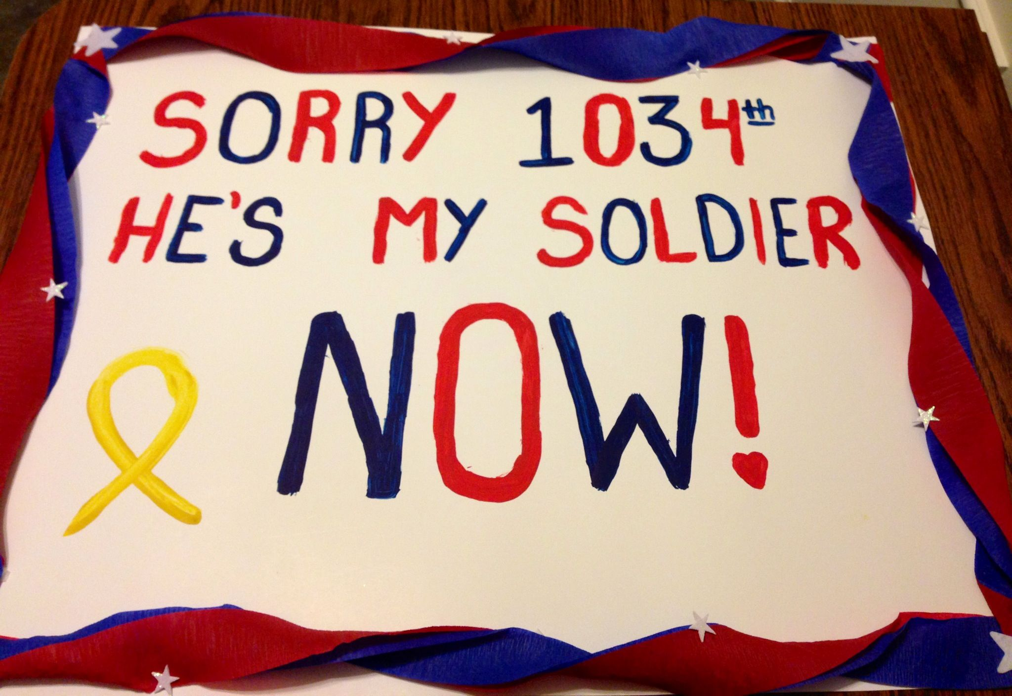 Welcome home sign for my man | army girlfriend | Pinterest ...