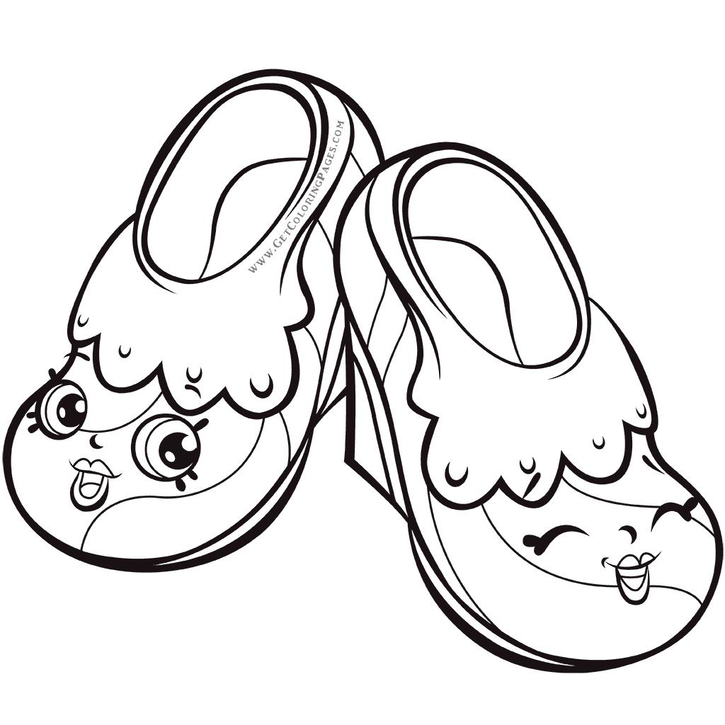 раскраска туфельки распечатать произошел переход