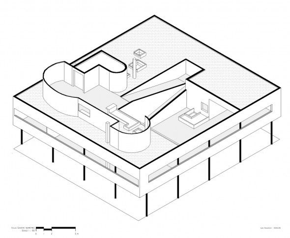 Le Corbusier | Villa Savoye | 1931 | Architecture {drawings & models ...