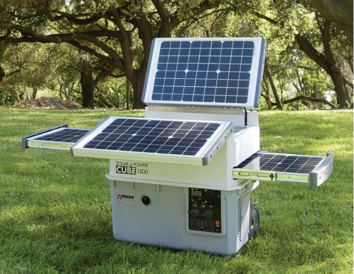Solar E Power Cube 1500 Plus Portable Solar Generator 1500 Watt Inverter 100 Ah Battery Portable Solar Generator Solar Solar Panels