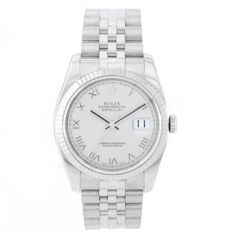 Rolex Steel Stainless Datejust Automatic Ref 116234