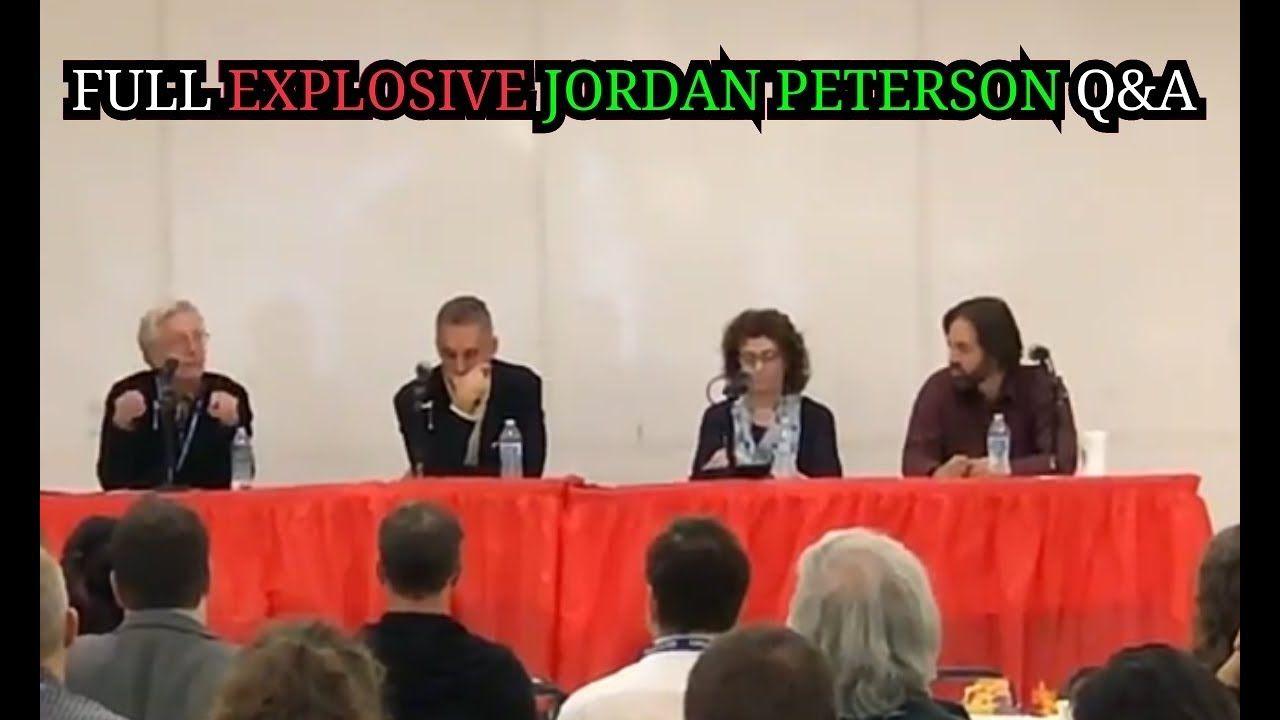 Jordan peterson full explosive qa must watch with