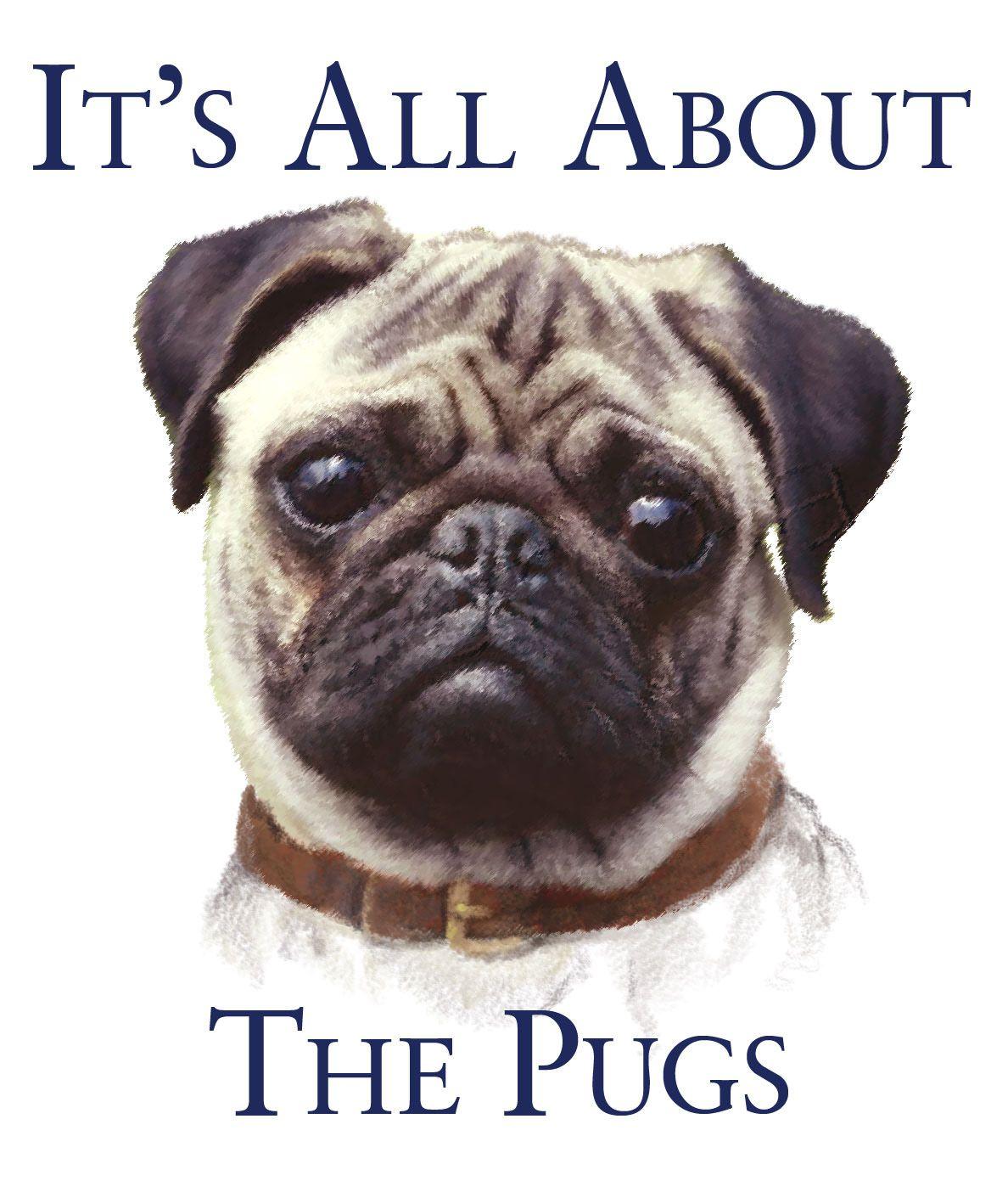 Pug blank greeting cards pk of furry things pugs pug love