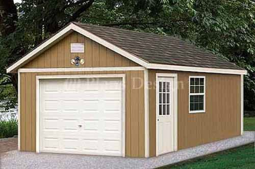 12 X 20 Garage Plans Shed Building Blueprints Design 51220 Building A Shed Shed Plans Shed Storage