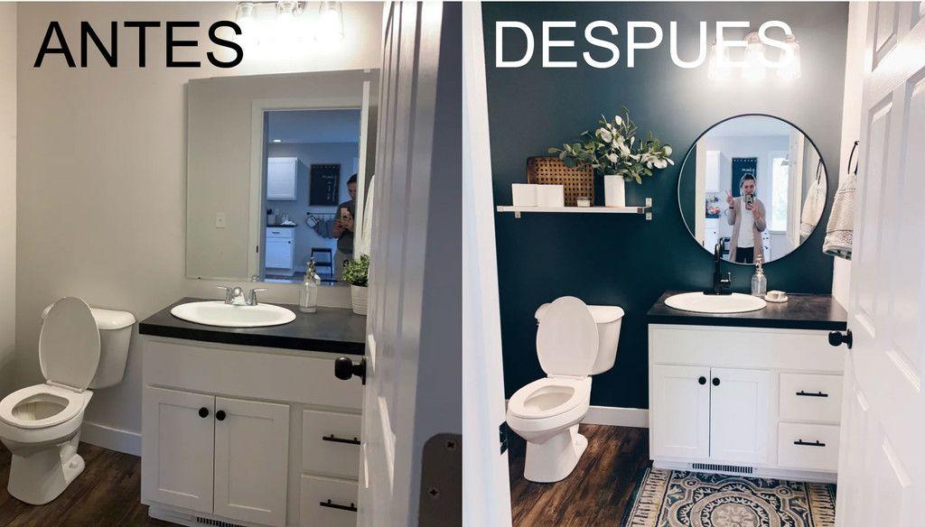 Antes y Después de un cuarto de baño en el que apuestan (y ...