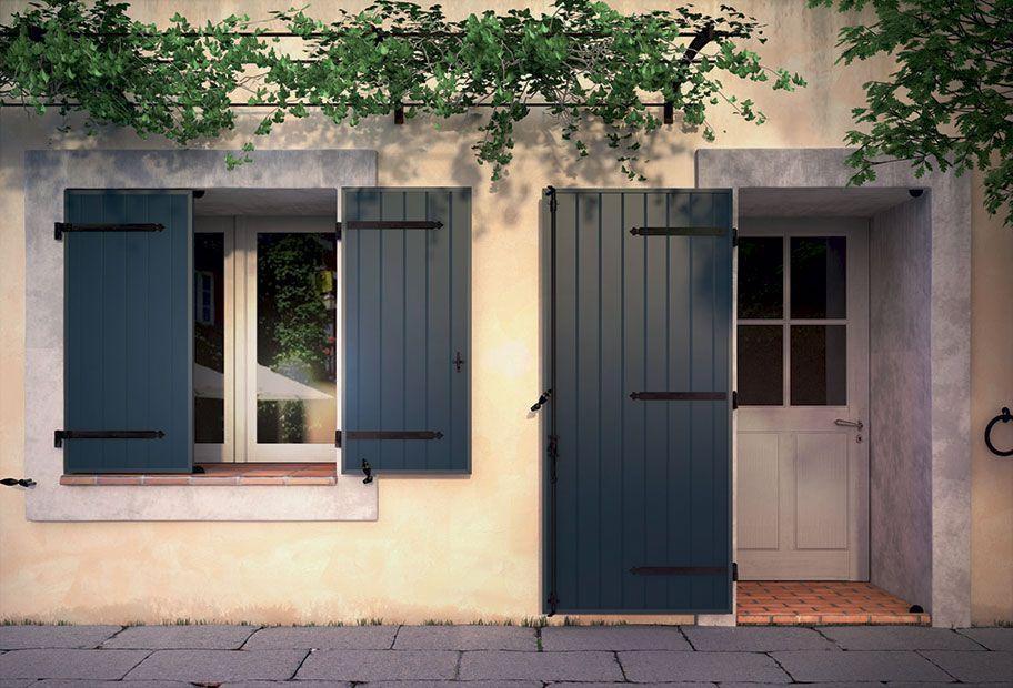 Epingle Par Jill Seynaeve Sur Volet En 2020 Volet Bois Peinture Volet Bois Peinture Facade Maison