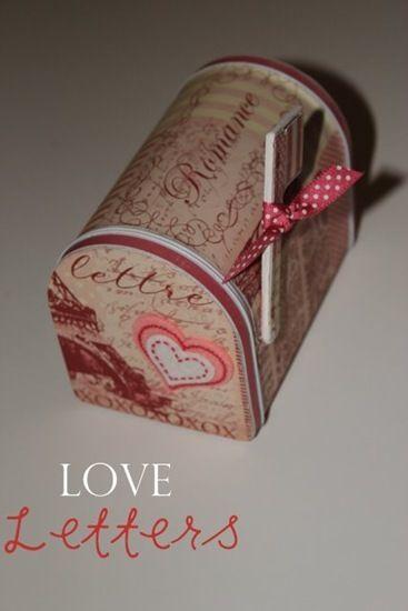Love Letters Target 1 Mail Box  Diy mailbox Valentine crafts